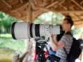 ve stánku Canon - foceno pevnou 35mm/F1.4