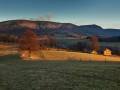 Pohled na severní stranu Jizerských hor směr Paličník