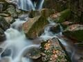 Černý potok - vodopád