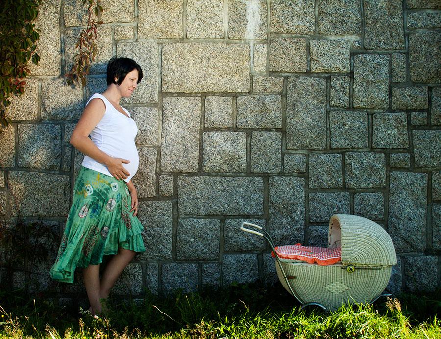 Těhotná maminka